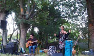 Concert dans un jardin